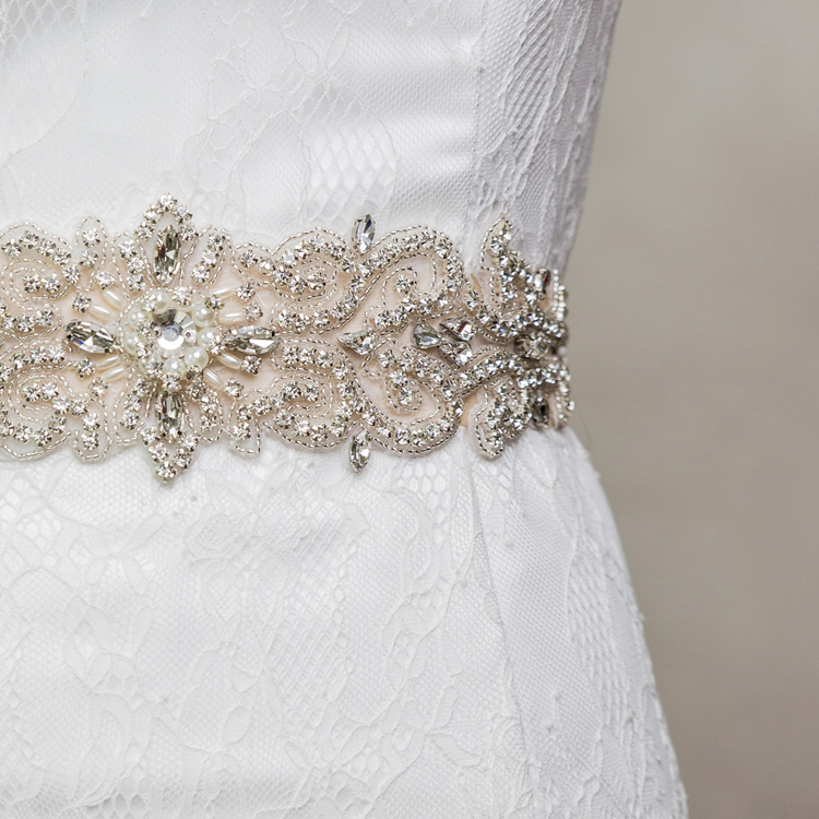 Wedding Dresses Sash Belt Crystal Rhinestone Beading Czech Stones Bridal Belt Women Waistband Party Bridal Gown Accessories