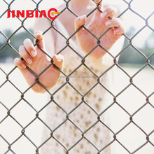 Hebei Jinbiao high quality cheap galvanized used chain link fence for sale