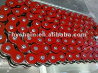 520UO O-Ring Colored Red Motorcycle Chain