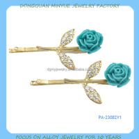 Custom colorful hair ornament hair jewelry OEM