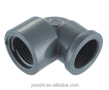 alibaba website 2016 hot sale NBR5648 plastic threaded pipe fitting pvc female elbow