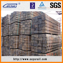 Suyu reclaimed/used wooden railway sleepers
