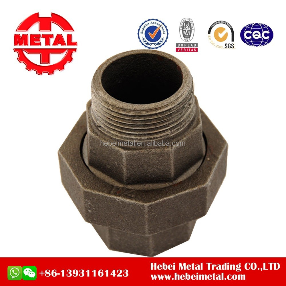 Black Malleable Pipe Fittings Pipe Clamp with DIN THREAD(STANDARD)