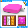 2016 customize package and logo 1000mah mini smart phone charger, one time use disposable power bank