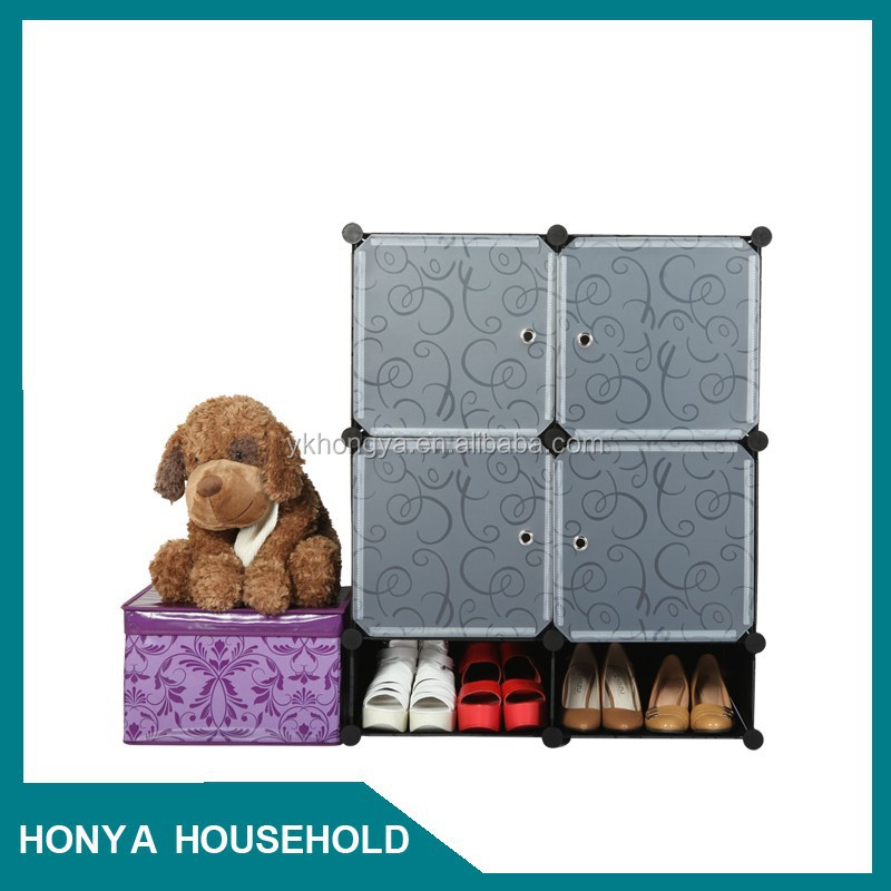 hongya popular beautifully shoe storage box