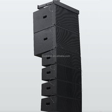 2017 New design two-way four unit full frequency line array speaker for sale