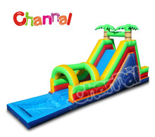 Use For Large Outdoor Events Giant Inflatable Water Slide