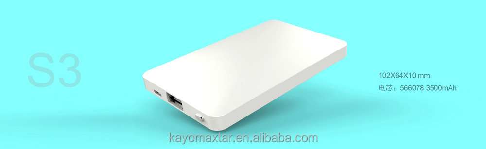 KAYO MAXTAR S3 3000mAh portable powerbank
