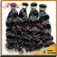 shedding and tangle free natural Virgin Asian Remy Hair