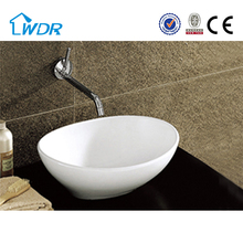 2017 New design special shape table counter top hand wash basin