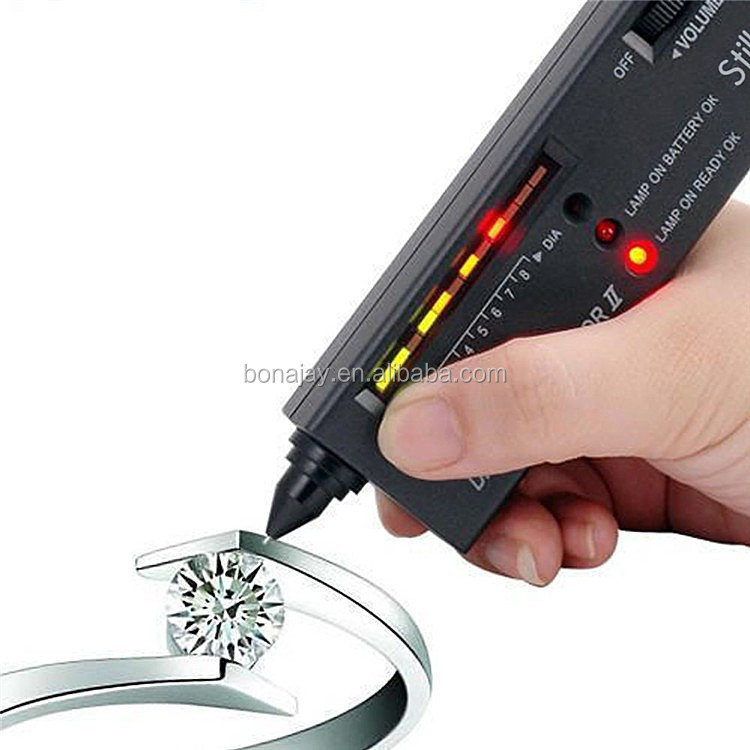 HDE High Accuracy Professional Jeweler Diamond Tester For Novice and Expert,Diamond Selector II