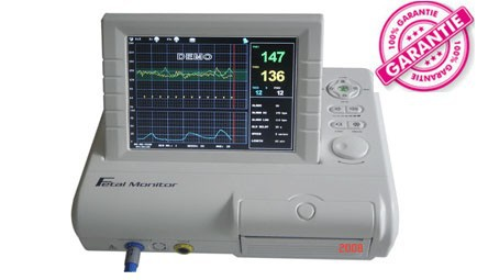 fetal heart rate Fetal Monitor with Ultrasonic Transducer TOCO Remote Marker