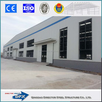 China made industrial shed designs light metal prefabricated structural steel frame workshop