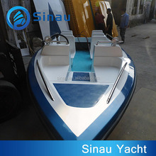 4.7M 15ft 8 seats fiberglass speed boat FRP speed boat for sale