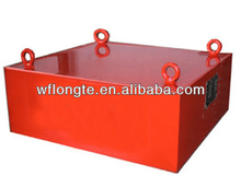 Suspension conveyor belt industrial/mineral iron magnetic separator