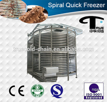 IQF spiral fast freezing machine