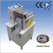 high speed rubber band cutting machine