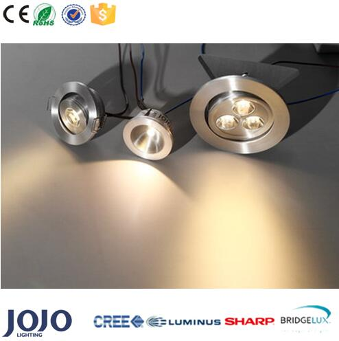 1W 3W Mini decorative LED cabinet downlight