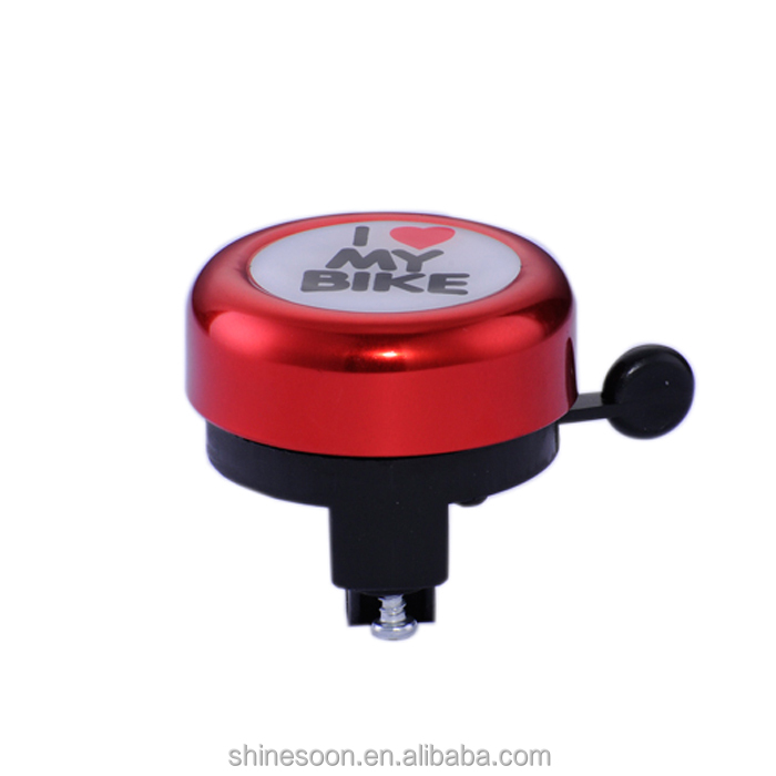 Wholesale bicycle bell accessories,custom color bicycle bell,lovely bike bell for children bike
