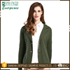 V Neck Women Cardigan Sweaters For