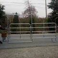 heavy duty galvanized used horse corral fence panels