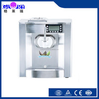 Mini Desktop Spraying Ice Cream Machine For Soft Ice Cream
