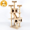 Pet Strap Scrap Cat Tower With Scrathcing Post Dangling Cat Scrathers