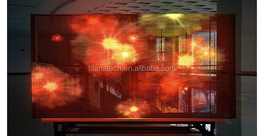 Shopwindow Transparent Screen mini led display,led advertising display,xxx china video led dot matrix outdoor display
