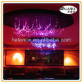 rgb led fiber optic chandelier for KTV,hotel,home ceiling decor