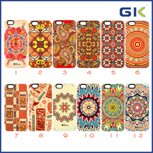 [GGIT] 3D Sublimation National Style TPU+PC Combo Case , 2 in 1 Case For IPhone 6 Cover