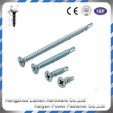 phillips bugle head full thread drywall self drilling screws zinc coating