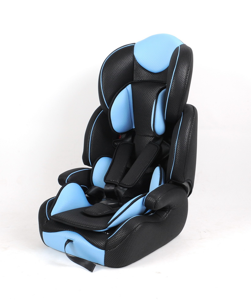 luxury pvc leather baby car seat for Group 1+2+3