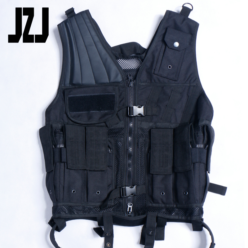 New Model Bulletproof and Anti-Stab Vest Camo Black Tactical Military Vest