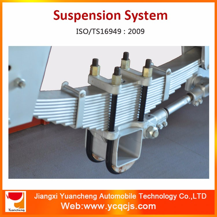YCAS-302 Leaf Spring Heavy Truck Suspension Mechanical Suspension Systems