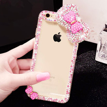 Luxury Bling Crystal Diamond Case Cover for iPhone 7 Plus