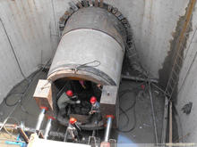 Concrete Pipe/Culvert Jacking Machine