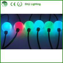 50MM Full Color BalL 3D Effect LED crystal magic Sphere Ball String Light outdoor
