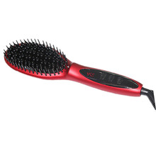 Anti-Frizz Ionic Technology Electric Straightening Hair Brush