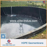 smooth hdpe geomembrane for roofing