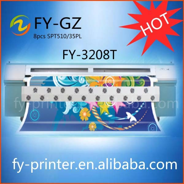Infiniti/Challenger FY-3266T with 6pcs SPT 1020 Printhead Wide Format Printer