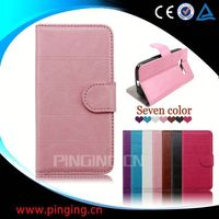 for Lenovo A390 case, book style leather flip case for Lenovo A390