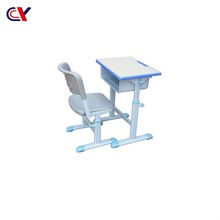 High Quality Used Kindergarten Kids Study Table And Chair School Furniture For Sale