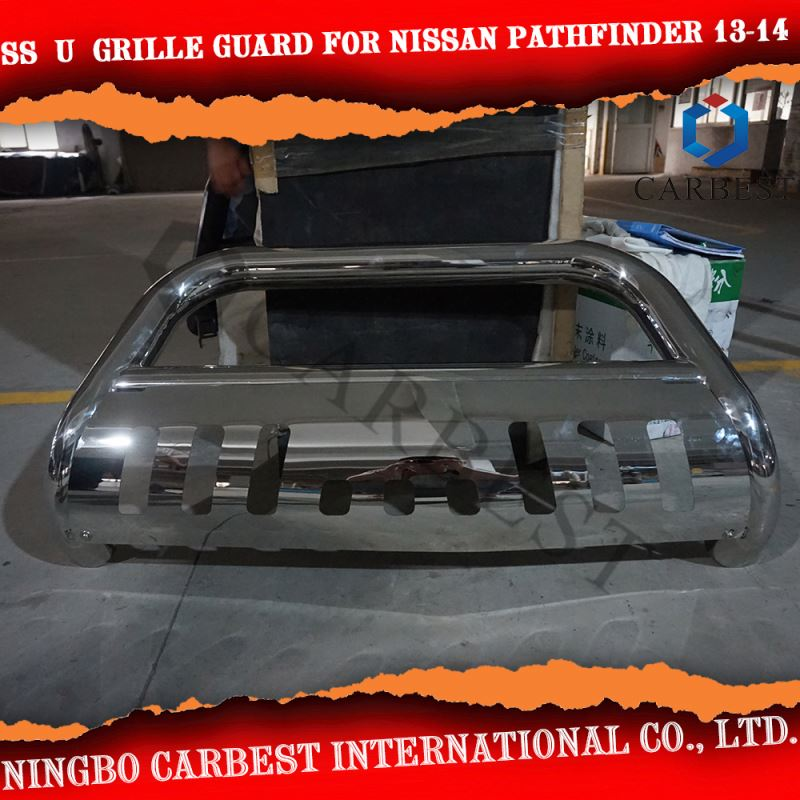 High Quality SS U GRILLE GUARD For NISSAN PATHFINDER 2013-2014
