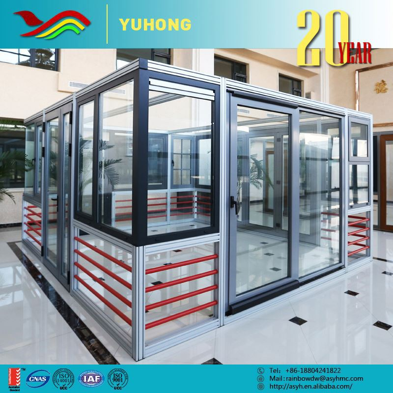 China supplier good quality new sound insulation aluminium sliding window grill design