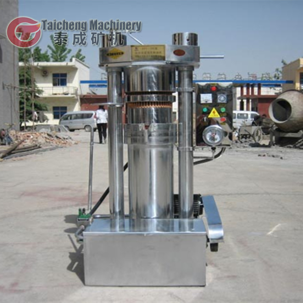 Automatic soybean peanut coconut cooking oil extraction Stainless cold & hot press oil press machine