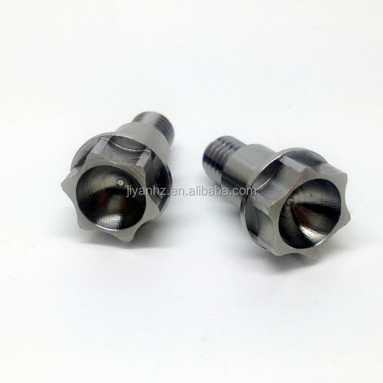 China high precision customized stainless steel cnc motorcycle parts threaded bolt shaft