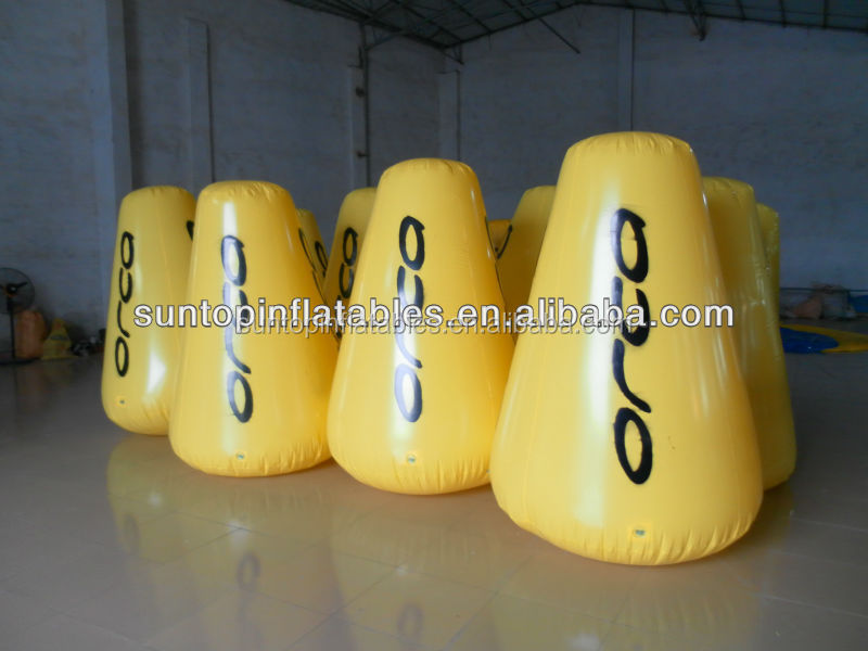 newly customized inflatable advertising marker buoys for sales