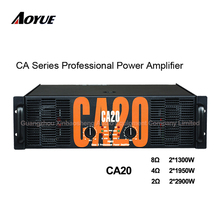 2 Channels 3U sound standard CA series transformer professional power amplifier CA20 for best price