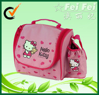 Wholesale Insulated Lovely Hello Kitty Kids Lunch Cooler Bag