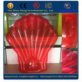 inflatable red seashell float, scallop float